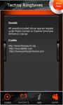 New Techno Ringtones screenshot 5/5