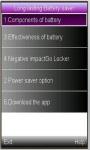 New battery saver screenshot 1/1