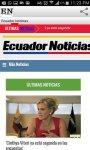 Noticias del Ecuador screenshot 2/3