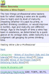 Wine Secrets screenshot 2/3