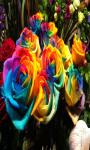 Rainbow Rose Flowers Live Wallpaper Best screenshot 3/4