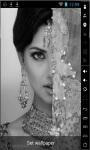 Retro Indian Girl Live Wallpaper screenshot 1/2