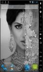 Retro Indian Girl Live Wallpaper screenshot 2/2