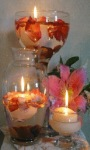 Flowers Candles Live Wallpaper screenshot 2/3
