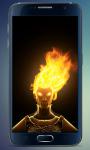 Fire Head Live Wallpaper screenshot 2/3