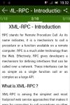 learn XML-RPC screenshot 2/3