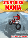 Stunt Bike Mania Free screenshot 1/3