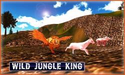 Flying Lion - Wild Simulator screenshot 1/3