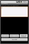 Sms2ManyAd screenshot 1/2
