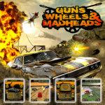 3D Guns Wheels and Madheads Free screenshot 2/2