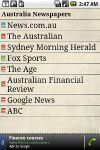 Australia Newspapers screenshot 1/1
