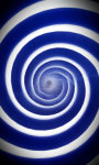 Blue hypnosis live wallpaper Free screenshot 4/5