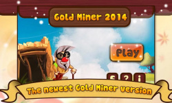 Gold Miner 2014 screenshot 1/3