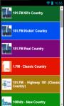 Country Music Radio Stations No 1 screenshot 1/5