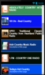 Country Music Radio Stations No 1 screenshot 3/5