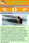 Rules to play Personal Watercraft screenshot 4/4
