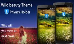 AppLock Theme Wild Beauty screenshot 3/3