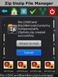 Zip UnZip File Folder Manager Free screenshot 1/4