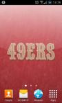 San Francisco 49ers NFL Live Wallpaper screenshot 3/3