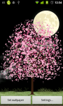 Lonely Cherry Blossom Tree LW app screenshot 3/3