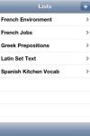 Vocab for iPhone screenshot 1/1