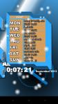 Free Calendar Clock screenshot 1/1
