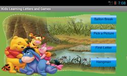Kids Learning Letters Games screenshot 2/2