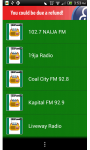 Nigerian Streaming Radio Music Sport News screenshot 1/3