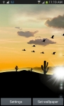 Desert Sunset LWP screenshot 1/6