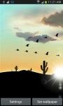 Desert Sunset LWP screenshot 2/6