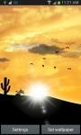 Desert Sunset LWP screenshot 3/6