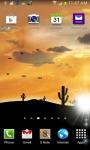 Desert Sunset LWP screenshot 5/6