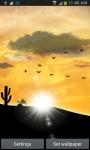 Desert Sunset LWP screenshot 6/6
