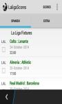 LaligaScores screenshot 1/3
