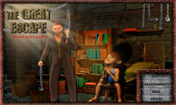 Free Hidden Object Game - The Great Escape screenshot 1/4