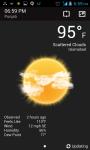 Weather App V2 screenshot 2/6
