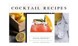 cocktail recipes food screenshot 1/3