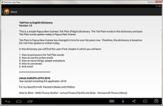TokPisin English Dictionary screenshot 5/6
