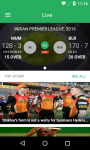 IPL Season 9 - Live Score screenshot 1/6
