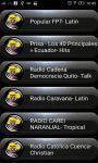 Radio FM Ecuador screenshot 1/2