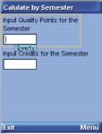 CGPA Calc screenshot 1/4