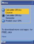 CGPA Calc screenshot 2/4