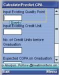 CGPA Calc screenshot 3/4