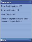 CGPA Calc screenshot 4/4