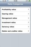 Ratio Analysis screenshot 1/1