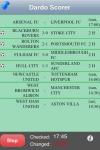 Dardo Soccer Scores screenshot 1/1