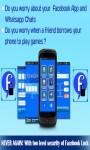 Lock for Facebook Apps Free screenshot 3/4