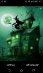 Halloween Witch theme Live Wallpaper screenshot 2/3