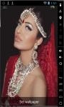 Beautiful Indian Girl Live Wallpaper screenshot 1/2