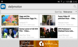 Quick Dailymotion Search and Widget screenshot 3/3
